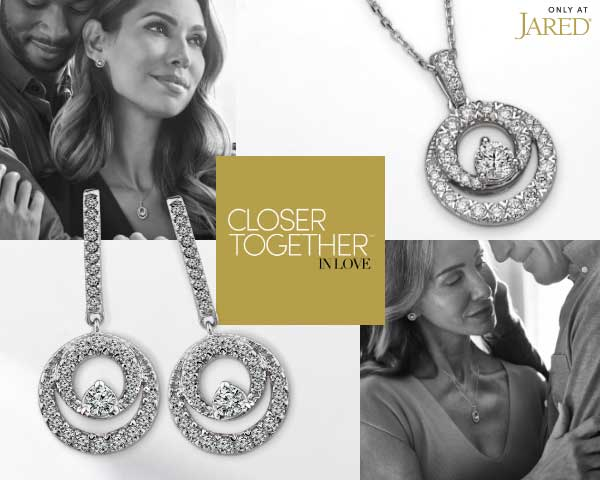 Shop the new Closer Together diamond jewelry collection, exclusive to Jared.