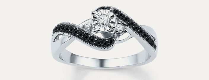 2019 New 2-in-1 Womens Vintage White Diamond Silver Engagement Wedding Band Ring Set Valentines Day Gifts for Girlfriend Boyfriend