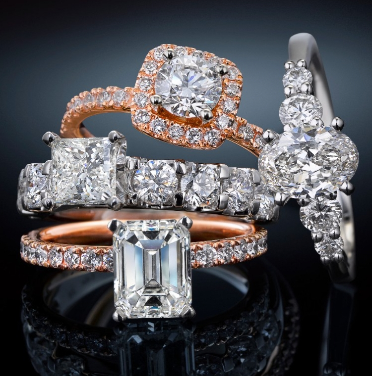 Engagement ring styles by Jared