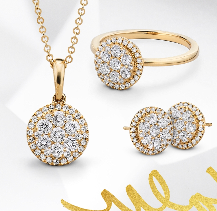 Shop all diamond fashion jewelry. Diamond is also the birthstone for April.