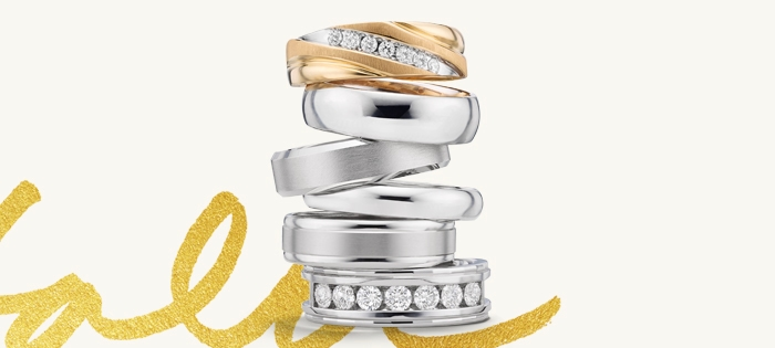 Wedding Band Options For Him Jared