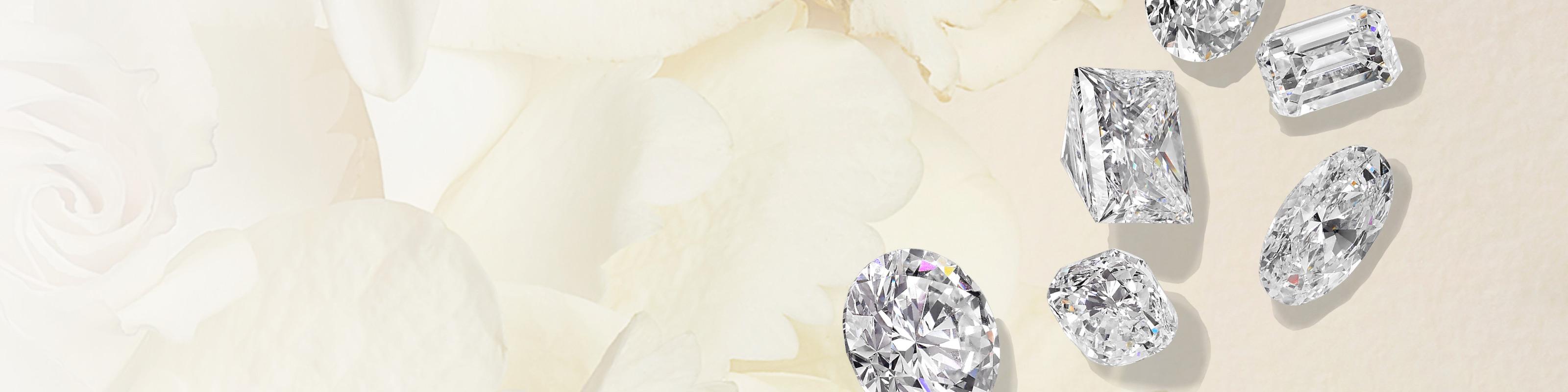 Loose diamonds and diamond jewelry by Jared