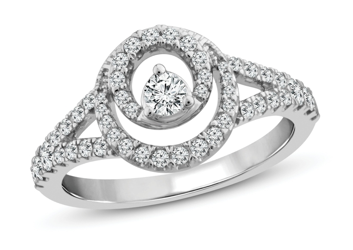 Closer Together ring from Jared