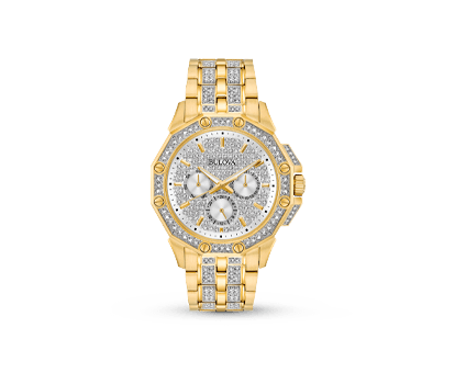 A Bulova Crystals Collection 98C126 men's watch