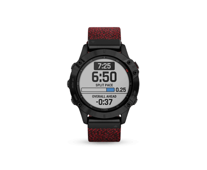 A Garmin Fēnix® 6 Sapphire multisport GPS men's watch
