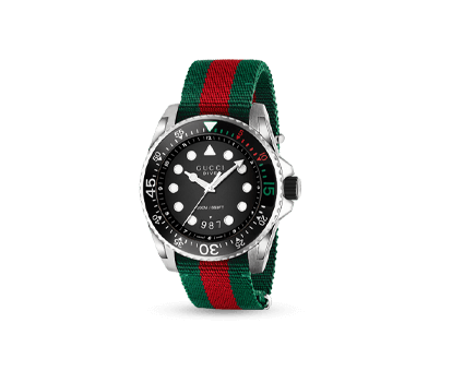 A Gucci Dive men's watch