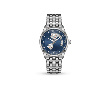 A Hamilton Jazzmaster Open Heart watch
