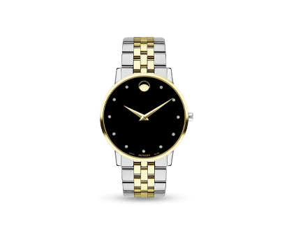 A MOVADO Museum Classic men's watch