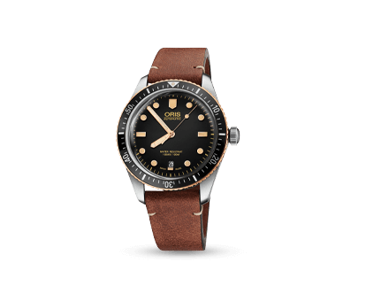 An Oris Divers Sixty-Five men's watch