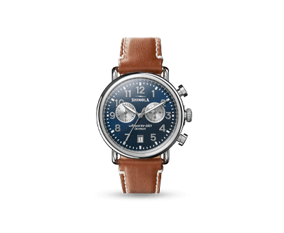 A Shinola Runwell 41mm Chronograph watch