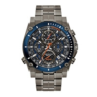 A Bulova Precisionist men's watch
