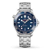 An OMEGA Seamaster Diver 300M men's watch