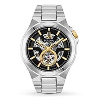 A Bulova Maquina Automatic men's watch
