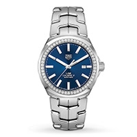 A TAG Heuer LINK Calibre 5 Automatic men's watch
