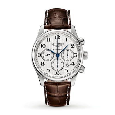 A Longines Master men's chronograph