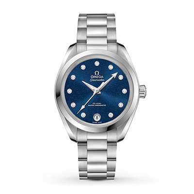 An OMEGA Seamaster Aqua Terra women's watch