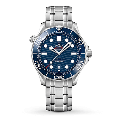 An OMEGA Seamaster Diver 300M men's chronometer